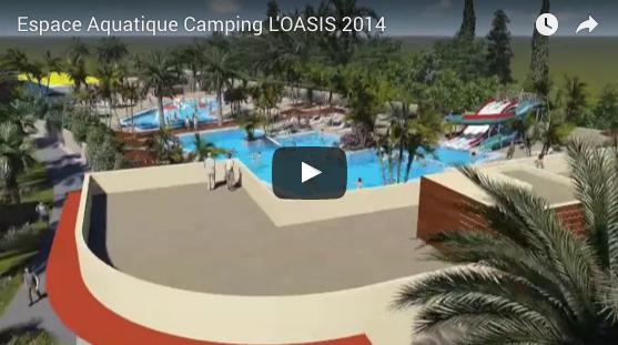 Vidéo de l'espace aquatique de l'Oasis
