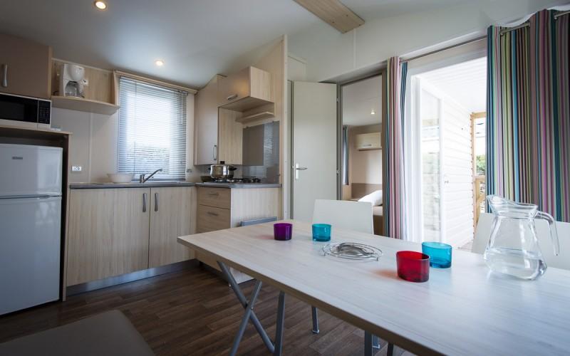 Cottage-5 Personen-Küche