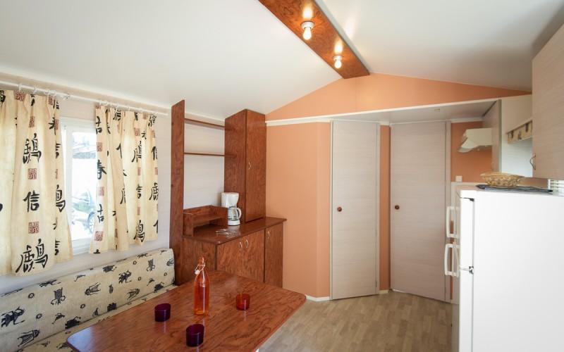 Mobilheim-4 Personen-Wohnbereich